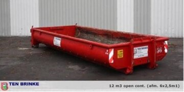 Meer info over: 12m3 Puin container open
